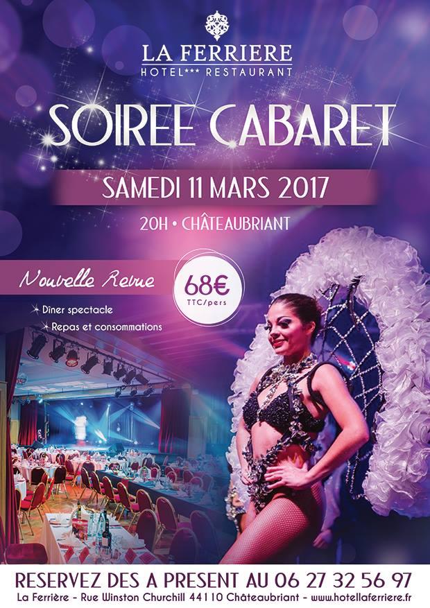 Soirée Cabaret Mars 2017