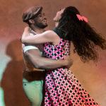 Duo de danse vintage