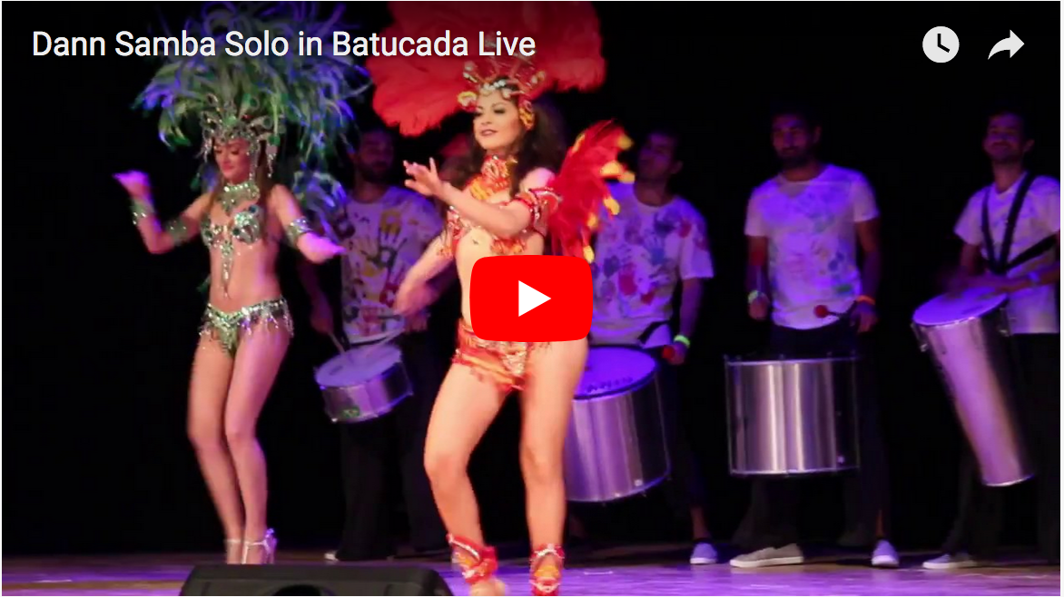 Video Samba Solo in Batucada Live